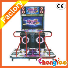 Pump It Up 2013 Fiesta 2 / Dancing Music Game Machine/ shoot basketball arcade game