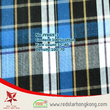 Wholesale plaid flannel shirt print fabric