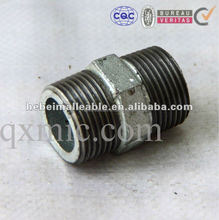 din standard nipple galvanized flat seat NO.280 malleable iron union flatseat female and male pipe fitting manufacturer