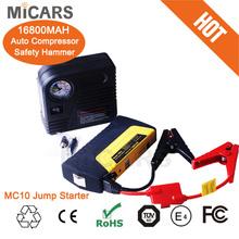 Emergency tool Jump Starter 12V 16800mah MC10 automatic car jump starter