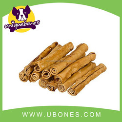 pet chews 100%rawhide material smoked&white retriever roll dog products alibaba