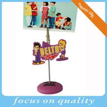 creative 3d soft pvc paper clip photo memo clip holder wholesale