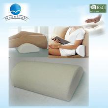 Alibaba China venta caliente cojín de la rodilla de espuma de memoria para dormir