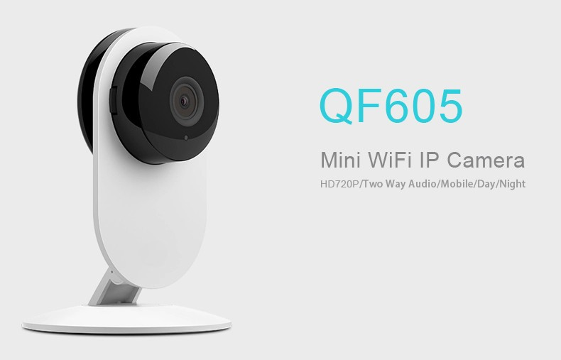 2015 new product wifi ip camera best sell qf605 onvif baby monitor support iphone 6 review. Black Bedroom Furniture Sets. Home Design Ideas