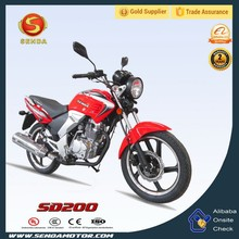 Chongqing China Manufacturer New Product 200cc Street Bike/Liberty Motorcycle for Sale SD200