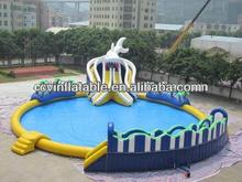 hot inflatable water park,inflatable floating water park,giant inflatable water park