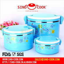 Keep-Fresh Stainless Steel Food Container,with different colors