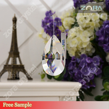 Free sample Machine cut crystal stone for chandelier