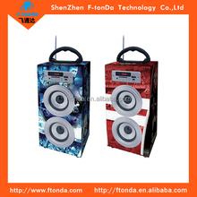 Bluetooth smart mini speaker,portable mini speaker,square dancing speaker