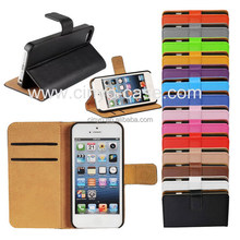 for iphone 5 wallet case with credit cards slots holder, for iphone 5 leather case, case for iphone 5