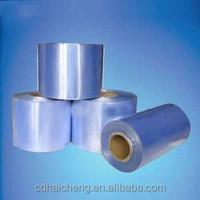 PVC shrink film for printing labels