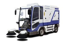 all-weather electric dust cleaner road sweeper