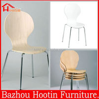 2014 fashion simple bent wood chair plywood chair for dining room