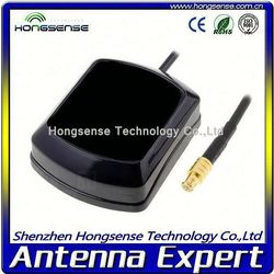 [RoHS+CE] High Gian car magnetic smart mini gps antenna With 100% Cupper cable