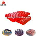 high manganese steel jaw crusher spare parts jaw plate