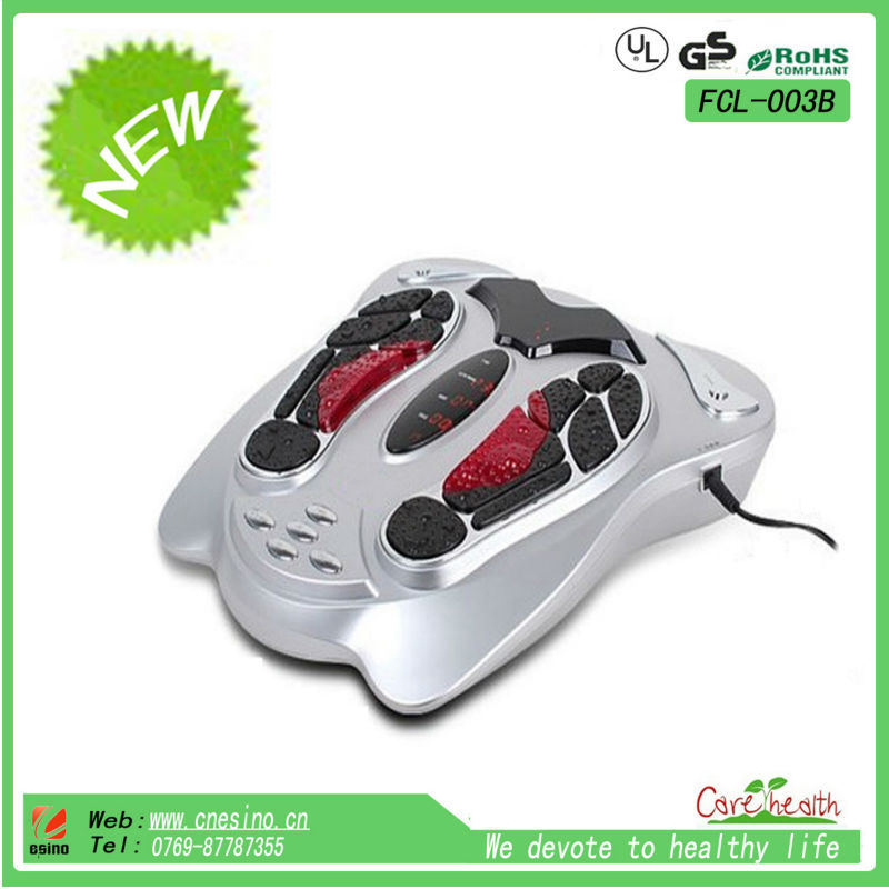 As seen on tv 2015 hot sale electric acupuncture foot massager fcl