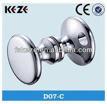 D07-C brass glass door handles and knobs