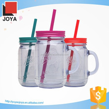 high quality hand made double wall clear glass juice cup