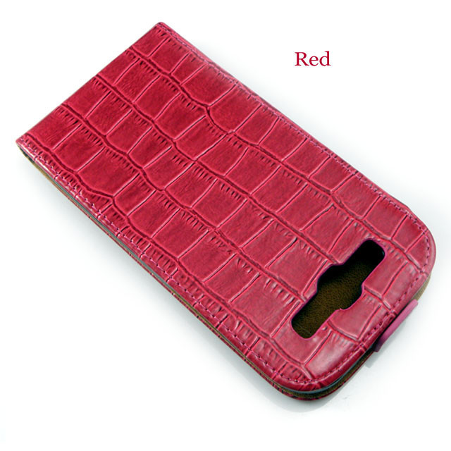 red Galaxy S3 leather case