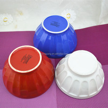 "6"", 7"", 8"", 9"", 10"", 11"", 12"" White Ceramic Bowl/rice bowl/colorful glazed bowl"