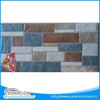 Stone Like Family Usage Ceramic Exterior Wall Tile 30X60 Size
