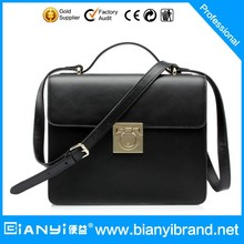 Factory Cheap Prices!!!2014 Classical Plaid PU Popular Leather Handbag