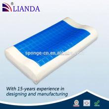 cool gel latex pillow, cool gel mat, cool gel memory foam pillow
