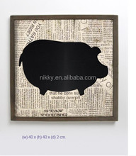 Kid writing blackboard & Animal shaped blackboard & Decorative wood mini blackboard