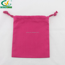 High quality new products silk screen printing cloth bag with drawstring