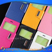 Factory Book Style Stand Wallet Leather Case flip cover for blackberry leap z20