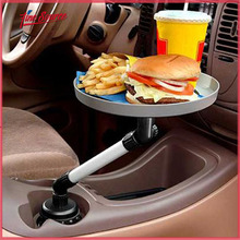 New design Hot selling car tray and storage bin snack drink holder