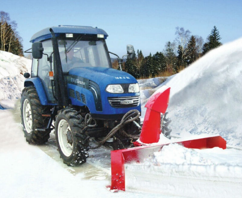 Snow blower rubber track tractor front mounted snow blower buy snow
