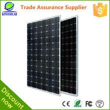 15 years warranty 60W mono solar panel with TUV