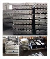 6063 Aluminum Alloy foam mold for box, packaging, cornice, EPS foam insulation machine