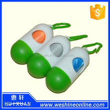 Wholesale High Quality Plastic Cute Dog Poop Bag Dispenser