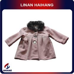 Fur collar spanish baby clothing