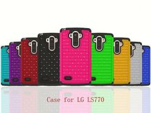 hot new product in 2015 Bling Hybrid Phone Case For LG G3 G3 Vigor