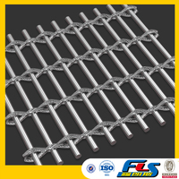 Decorative Metal Architecture Mesh/Stainless Steel Woven Wire Drapery