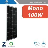 100W 12V solar panel used in solar home system