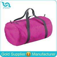 Lightweight Polyester Round Travel Bag Portable Round Shape Travel Bag Factory Sale