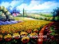aceite de girasol de la pintura para la decoración del hogar