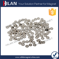 China Manufacturer High Quality Small Neodymium Ring Magnet