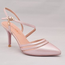 women fashion patent genuine leather stletto dress shoes