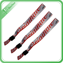 Event &party supply china wristband with printing custom logo