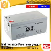 Multiple functions Green energy lomg life 12v 220ah battery