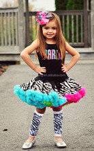 Wholesale Baby Halloween Girl Dance Pettiskirt Party Fluffy Dance Skirt Pettiskirts