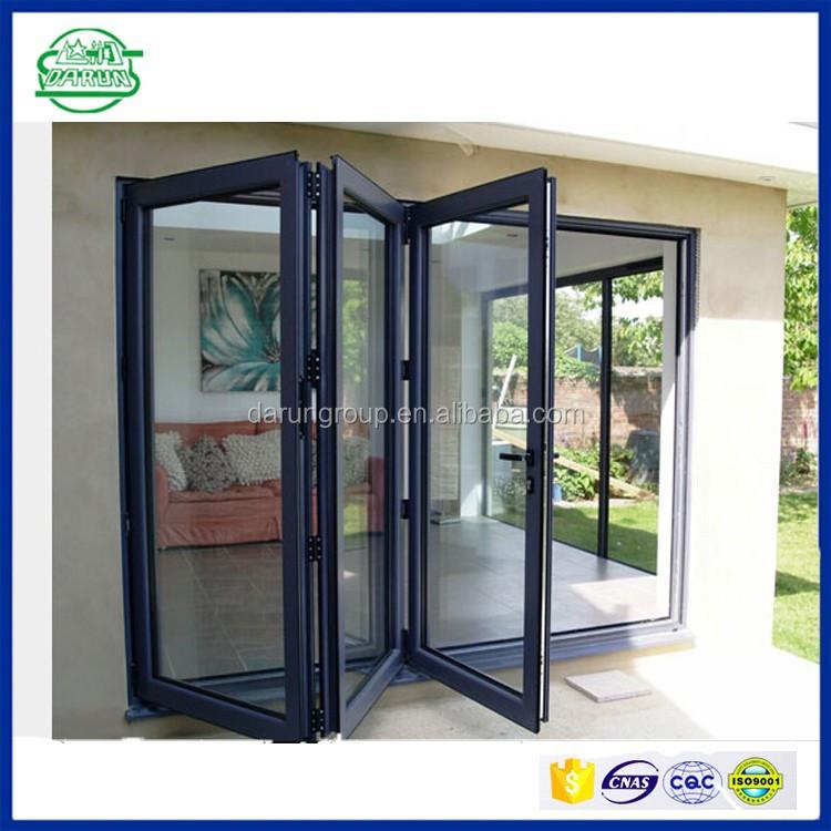 Low Price Aluminium Bi Fold Door Aluminum Bi Folding Sliding Doors