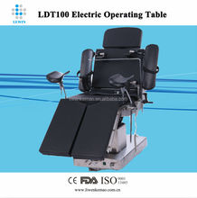 Emergency apparatus electric operating table