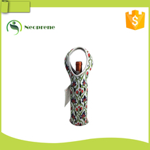 Foldable wine bottle bag for insulated
