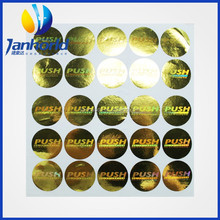 Customer UV/3D waterproof anti-counterfeit holographic label